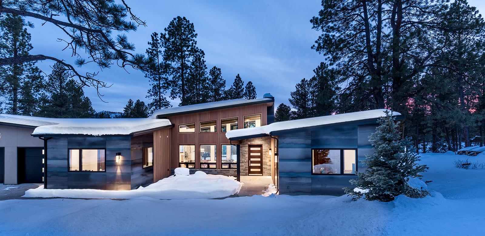 Frank Lloyd Wright Inspired Houses frank lloyd wright inspired home custom-homes